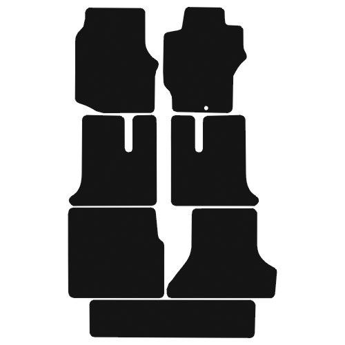 Mitsubishi Delica (7 Seater) (1994 - 2007) Fitted Floor Mats product image
