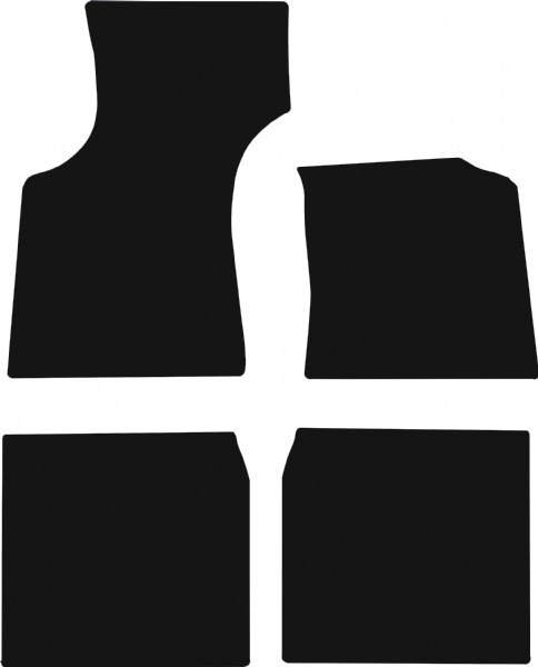 Morris Minor (1956 to 1971) Fitted Car Floor Mats product image