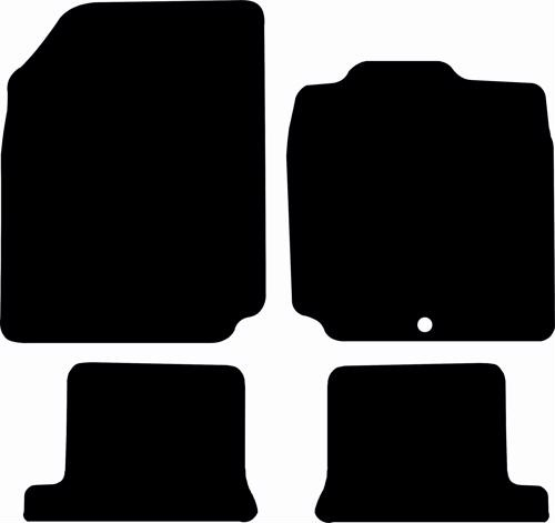 Nissan Micra CC (2005 - 2009) 1-locator Fitted Car Floor Mats product image