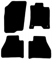 Nissan Navara 2020 - Onwards (D23)(Facelift) Fitted Floor Mats product image