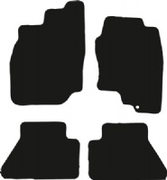 Nissan Navara 2005 - 2009 (D40) Fitted Floor Mats product image