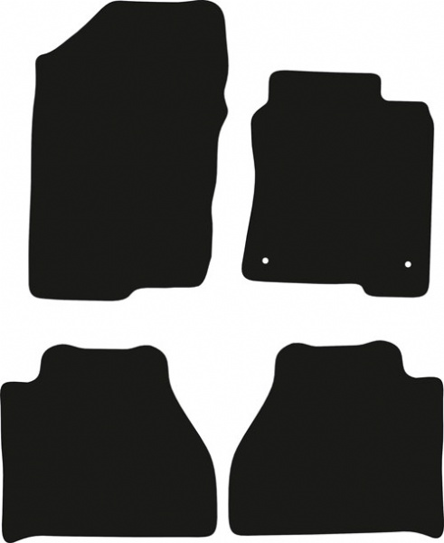 Nissan Navara 2014 - 2020 (D23) Fitted Floor Mats product image