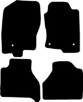 Nissan Navara 2010 - 2013 (D40 Facelift) Fitted Floor Mats product image