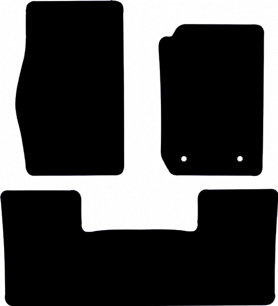 Nissan Patrol 1998 to 2004 Fitted Car Floor Mats product image