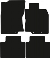 Nissan X-Trail (2014 onwards) (4 locators) Fitted Floor Mats product image