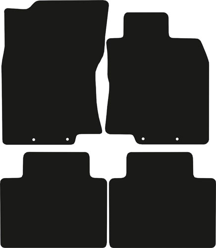 Nissan X-Trail (2014 - 2021) (4 locators) Fitted Floor Mats product image