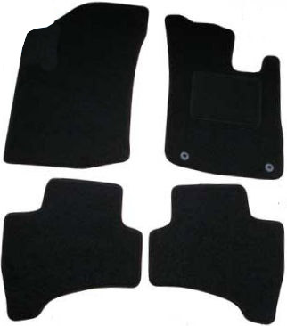 Peugeot 107 (2005 - 2014) With Two Locators Fitted Car Floor Mats product image