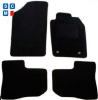 Peugeot 206 1999 to 2006 (Twin Locators)  Car  Mats