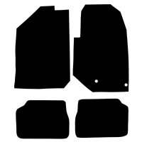 Peugeot 208 2020 - Onwards Fitted Car Floor Mats product image