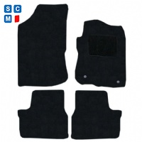 Peugeot 208 2012 - 2019 (2 round locators) Fitted Car Floor Mats product image