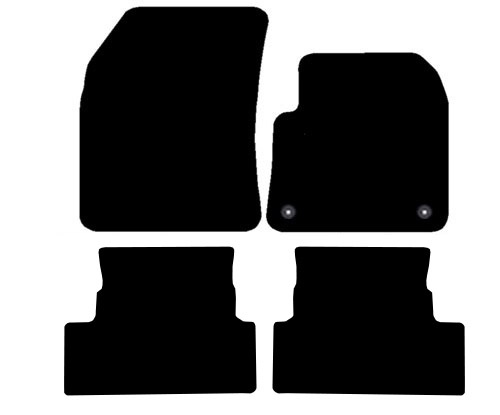 Peugeot 3008 2016 (4 piece set) Onwards Fitted Car Floor Mats product image