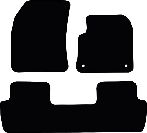 Peugeot 5008 2017 - Onwards Fitted Car Floor Mats product image
