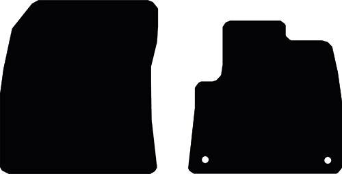 Peugeot Partner Van (2018 Onwards) (Oval Locators) Fitted Floor Mats product image