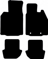 Porsche 911 (997) 2004 - 2012  (Without Sub) Fitted Car Floor Mats product image