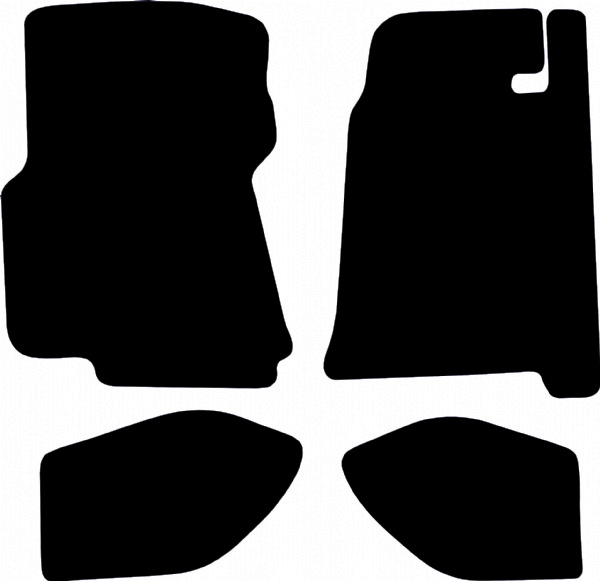 Porsche 928 1987 - 1992 Fitted Car Floor Mats product image