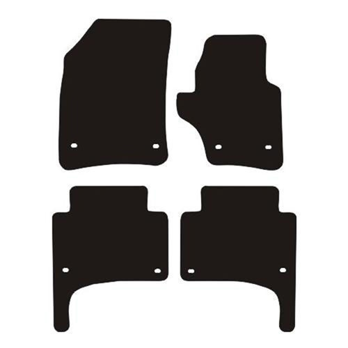 Porsche Cayenne (2002 - 2010) (Oval locators) Fitted Floor Mats product image