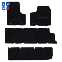 Renault Trafic 2014 onwards (9 Seater) SGL Door Fitted Car Floor Mats product image
