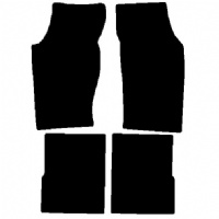 Saab 900 mk1 Convertible (1986 - 1994) Fitted Car Floor Mats product image