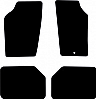Saab 900 mk1 (1978 - 1993) Fitted Car Floor Mats product image
