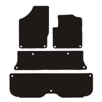 Seat Alhambra (2006 - 2010) (Oval Locators) Fitted Floor Mats product image