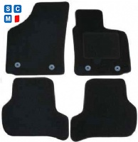 Seat Leon (2005 - 2008) (four round locators) (MK2) Fitted Car Floor Mats product image