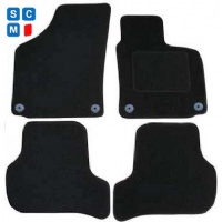 Seat Leon (2008 - 2012) facelift (Round Locators) (MK2) Fitted Car Floor Mats product image