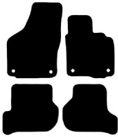 Skoda Octavia Estate 2009 - 2013 (Round Locators)Fitted Car Floor Mats product image