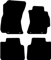 Subaru Legacy 2009 - 2014 Fitted Car Floor Mats product image