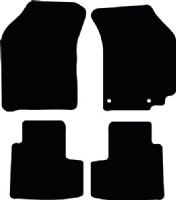 Suzuki Swift 2005 - 2010 (Automatic) Fitted Floor Mats product image