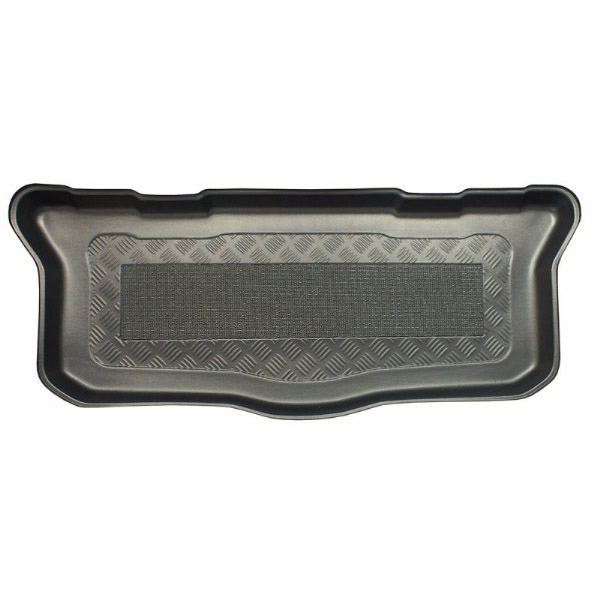 toyota aygo july 2014 onwards mk2 moulded boot mat from simply car mats. Black Bedroom Furniture Sets. Home Design Ideas