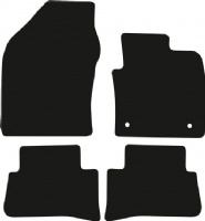 Toyota C-HR (2017 onwards) (Oval locators) Fitted Floor Mats product image