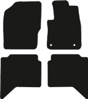 Toyota Hilux Twincab 2016 - Onwards  (Auto) Fitted Car Floor Mats product image