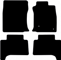 Toyota Land Cruiser 2003 - 2009 Fitted Car Floor Mats product image