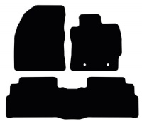 Toyota Verso (2009 - 2012) 5-seater (Round Clips) Fitted Floor Mats product image