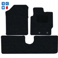 Toyota Yaris 2011 onwards (XP130 - XP150) (Fits 3 and 5 Door) Fitted Car Floor Mats product image