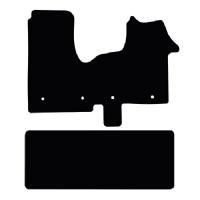 Vauxhall Vivaro 2014 to 2019 (Crew Van) Fitted Car Floor Mats product image