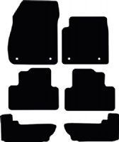 Vauxhall Zafira 2012 onwards (C) Tourer 7 Seats Floor Mats product image