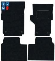 Volkswagen Amarok 2011 Onwards Fitted Car Floor Mats product image