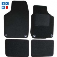 Volkswagen Beetle Convertible (2003 - 2013) (Oval Locators)  Car  Mats