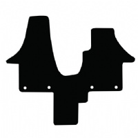 Volkswagen California T5 and T6 (2004 - 2020) T6_011 (Oval Fixings) Front Cab Mat